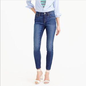 J. Crew Lookout High Rise Skinny Jeans 29 U3212